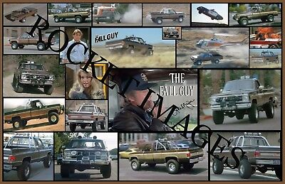 Fall Guy #2 Bad Ass Custom GMC Truck Poster 11x17! Buy 2 Posters Get 3rd FREE!!