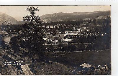 PRINCETON: British Columbia Canada postcard (C7669)