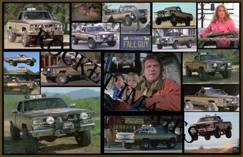Fall Guy Famous GMC 1982 4x4 Truck!Custom Poster 11x17! Buy 2 Get 3rd FREE