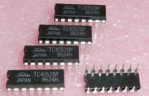 5pcs TC4052BP / 74HC4052AP 8-CHANNEL MULTIPLEXER/DEMULTIPLEXER DIP-16 ... 5x