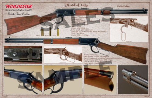 Winchester Model of 1892 Saddle Ring Carbine