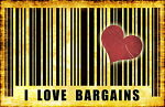 LUV BARGAINS TOO !