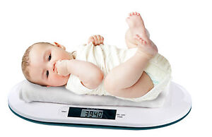 Digital-Electronic-Weighing-Scale-Baby-Infant-Pet-Bathroom-20kgs-44Lbs-10G-NEW