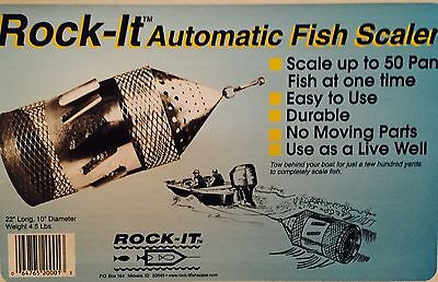 Rock-it Automatic Fish Scaler
