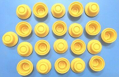 22 Blitz Yellow Spout Cap Fits Self-venting Gas Can Spouts 900302 900092 900094