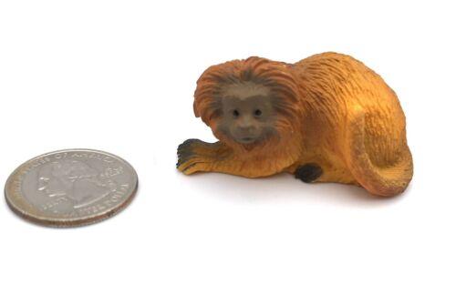 Yowie GOLDEN LION TAMARIN MONKEY Animal Wildlife Figure