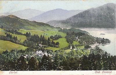 Early General View & Loch Lomond, TARBET, Dunbartonshire