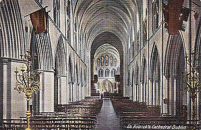 St. Patrick's Cathedral Interior, DUBLIN, County Dublin, Ireland