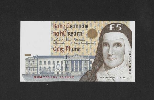 aUNC 5 pound 1999 IRELAND