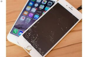 iPhone lcd replacement any iPhone starting@ 59  and phone sale