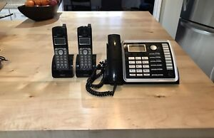 RCA phone with 2 cordless handsets