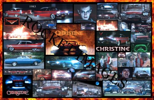 Christine 1983 Poster. Killer Car... 11x17 Buy any 2 Posters Get 3rd FREE!!!