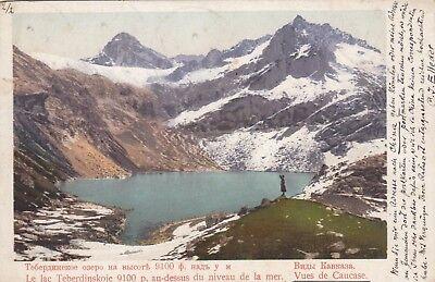 Teberdinsky Kaukasus Caucasus AK 1906 Russland Stempel Tsingtau 1709114