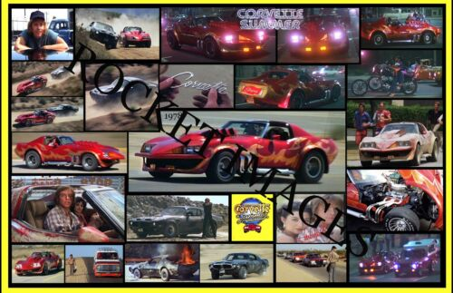 Corvette Summer 1978... Custom Poster 11x17 Buy any 2 Posters Get 3rd FREE!!!