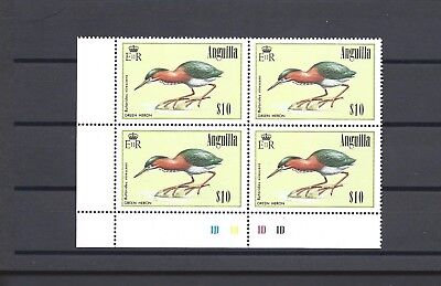 ANGUILLA 1985-86 SG 675 MNH Block of 4 Cat £28