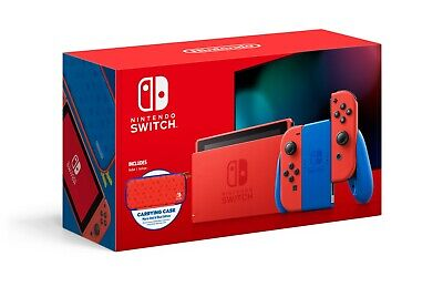 ✅Brand New & Sealed Nintendo Switch Mario Red & Blue Limited Edition SHIPS NOW!