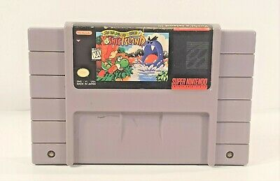 Super Mario World 2: Yoshi's Island  (Super Nintendo System 1995) TESTED
