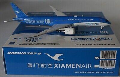 Jc Wings KD4002 Boeing 787-9 Xiamen Aire B-1356 en 1/400 Escala