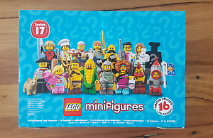 NEW Lego Minifigures  Series 17 Sealed Box of 60 -Full Case 71018 Hamilton Brisbane North East Preview