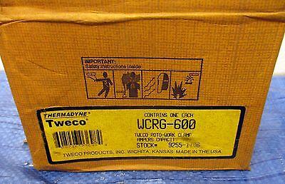 Tweco Roto-work Clamp Wcrg-600 Stock No. 9255-1106 Nib