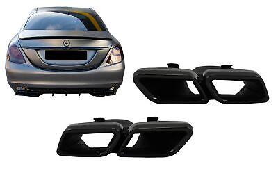 Auspuff Endrohre Für Mercedes C W205 GLE C292 W166 GLC W253 C217 Design Look