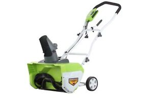 20 inch Green Works Snowblower