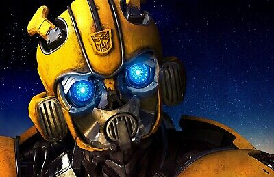 Transformers Bubble Bee Movie Poster Print T1362  |A4 A3 A2 A1 A0|](Transformers Bubble Bee)