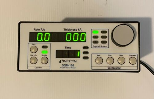 INFICON THICKNESS MONITOR DEPOSITION SQM-160