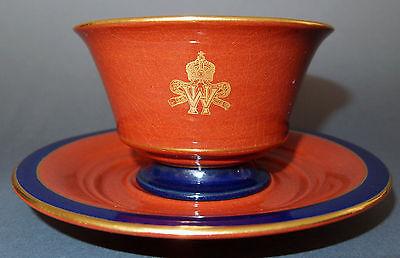 Tasse + Untertasse CADINEN aus dem persönlichen Besitz von Kaiser Wilhelm II