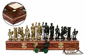 GREAT ''SPARTAN'' CHESS SET 42cm/16