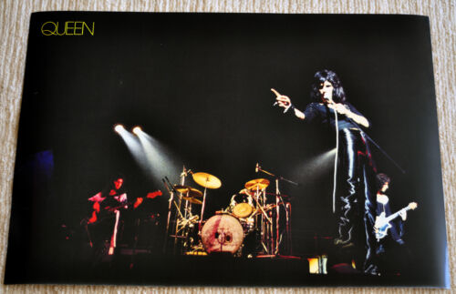 Queen poster Queen II Freddie Mercury on stage live poster