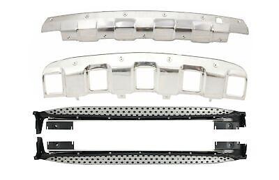 Trittbretter Seitenschritte für MERCEDES ML W164 05-08 Unterfahrschutz Off Road
