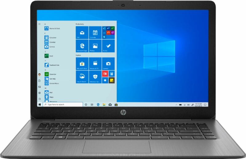 "HP - Stream 14"" Laptop - AMD A4-Series - 4GB Memory - AMD Radeon R3 - 64GB eM..."