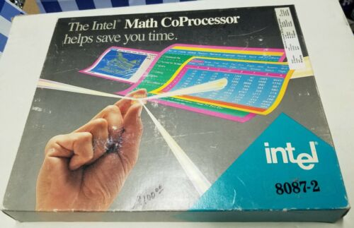 Intel 80287 - Math Coprocessor for 80286 - NEW & ORGINAL - NIB - Never Used