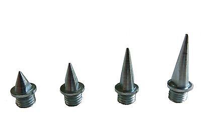 Spikes, Ersatzspikes für Leichtathletik-Schuhe, Dornen  6mm / 9mm / 12 mm / 15mm