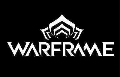 Warframe Vinyl Decal Window Laptop Sticker