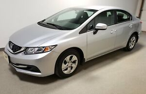 2015 Honda Civic LX Certified Htd Seats Camera Local Traction 56