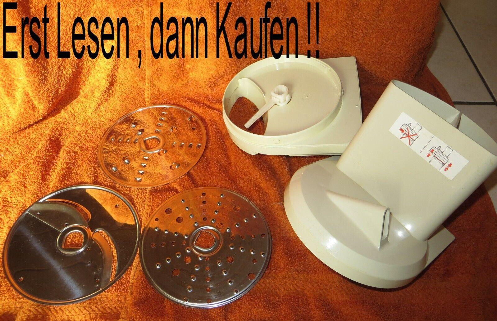 Philips HR 2970 Schnitzelwerk 2975 Reibe Reibescheibe Messer Küchenmaschine