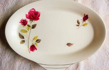 Alfred Meakin Serving Plate Dish - Roses