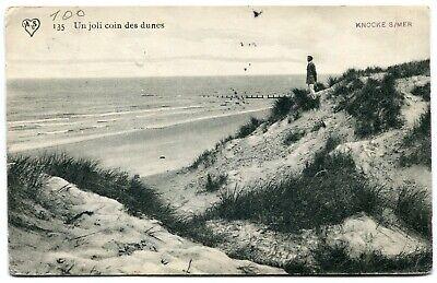 CPA - Carte Postale - Belgique - Knocke - Un Joli coin des Dunes - 1913 (B9203)