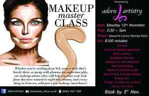 Makeup Class, Basic to Contour, Day & Night, Natural & Dramatic, Lee Point Darwin City Preview