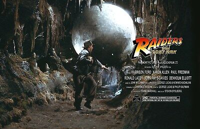 Steven Spielberg Indiana Jones Raiders Of The Lost Ark UNSIGNED 11x17 PHOTO