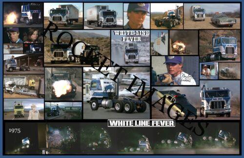 White Line Fever 1975 Custom Trucker Poster 11x17 Buy any 2 Posters Get 3rd FREE