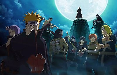 Naruto Akatsuki Complete - High Quality  Poster - 34 in x 22 in (Fast shipping) ()