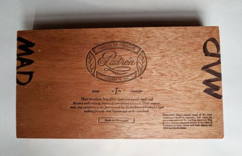"Padron 1964 Anniversary Series Principe Empty Wooden Cigar Box 10"" x 6"" x 2"" 🎸"