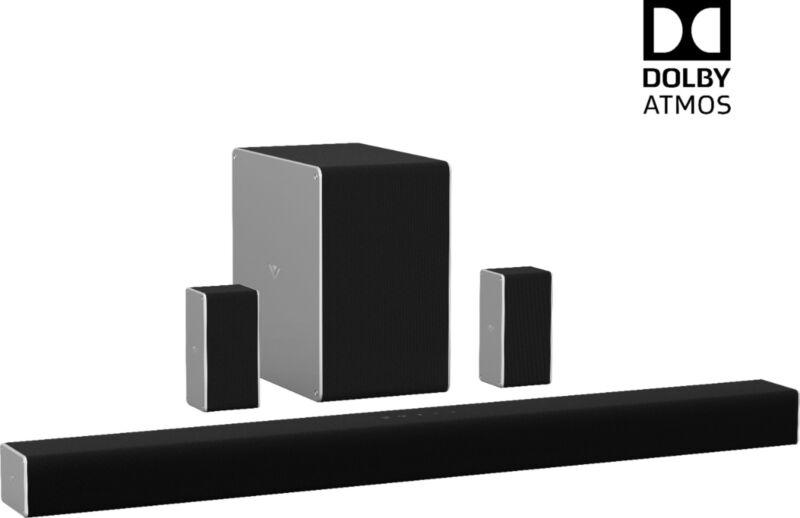 VIZIO  SB36512-F6 5.1.2 Channel Wireless Soundbar with Dolby Atmos (Used) (IL...