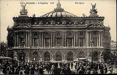 Paris France CPA Postkarte 1925 gelaufen L'Opéra Partie an der Oper ungelaufen
