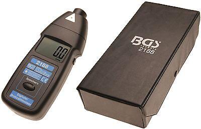 BGS! 2188 Digitaler Laser Drehzahlmesser Drehzahl messen Digital  Messung Prüfer