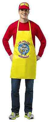 Los Pollos Hermanos Apron Visor Breaking Bad Fancy Dress Halloween Adult (Pollos Hermanos Kostüm)