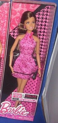 BARBIE COLLECTOR PINK & FABULOUS COLLECTION 1 LOOK 3 BARBIE DOLL, NEW